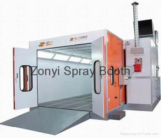 CE Spray booth TUV auto spray booth manufacture 1