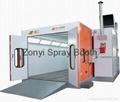 CE Spray booth TUV auto spray booth