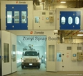CE Spray booth TUV auto spray booth manufacture 2