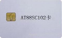 AT88SC102卡
