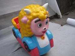 喜羊羊儿童投幣搖搖車