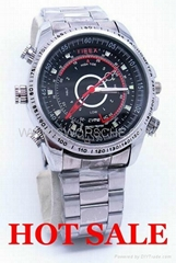 4GB HD Spy Watch Camera with 1280x960 Video and Separate Voice Recording