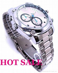 SWORSCHE HD1080P Watch Camera with IR NightVision Best Watch Camera