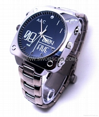 HD Spy Watch Camera withSound Activated Recording with Nightvision