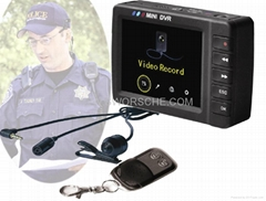 Law Enforcement Button Camera Police Recorder
