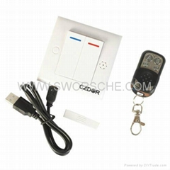 Spy Switch Camera with 2.4G Wireless Remote Control with Motion Detection Record