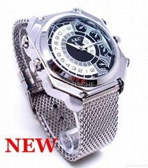 HD1080P Nightvision Watch Camera with Voice Activated Recording