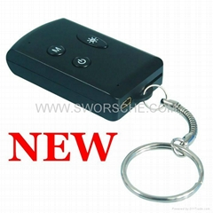 Full HD Key Chain Camera Support Max 64GB TF Card with TV Out Function