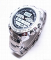 Brand New Watch Camera with H264 Compression Format and Motion Detection