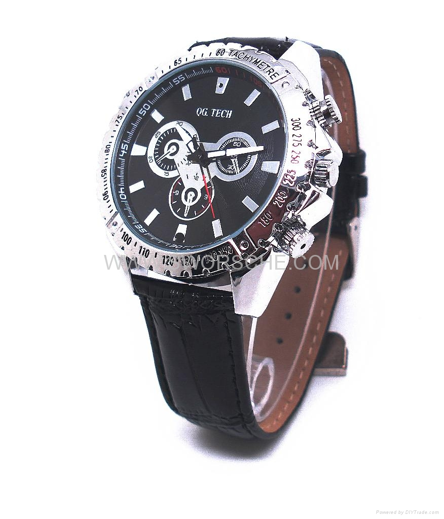 Leather Band Watch Camera with HD  Resolution 1