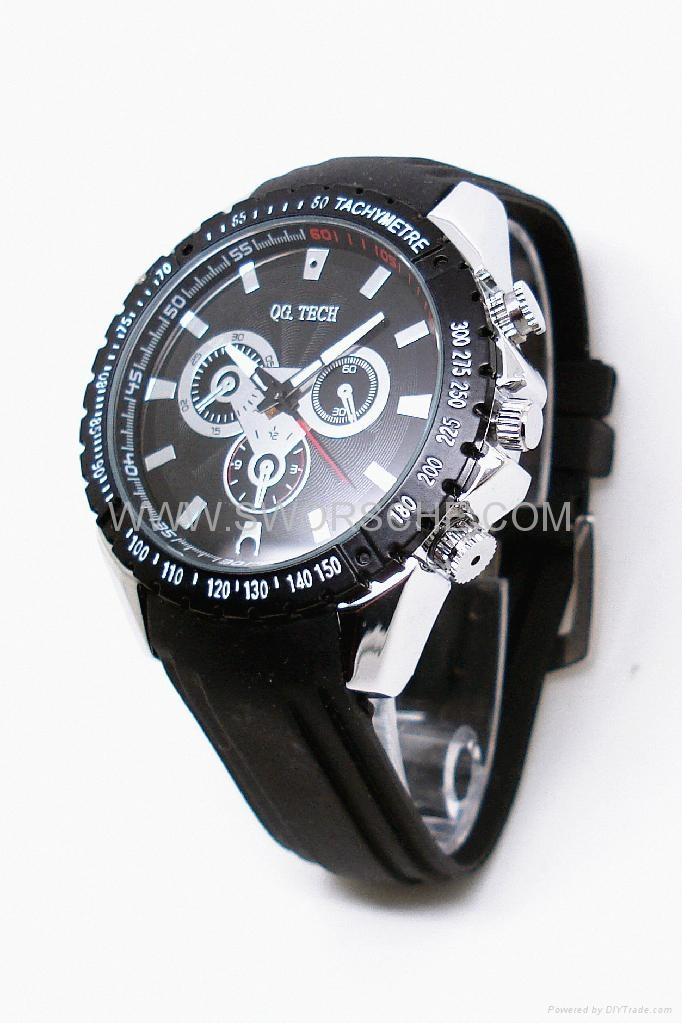 Leather Band Watch Camera with HD  Resolution 3