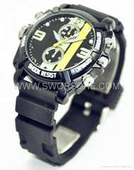 SWORSCHE Outdoor Sports Watch Camera with HD1080P