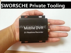 Mini Mobile DVR Vehicle Recorder with Motion Detection and Remote Control