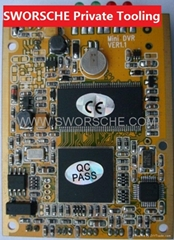 CCTV DVR Board with D1 Resolution Motion Detection and AV-IN AV-OUT TV OUT