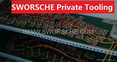 1 Channel Mini DVR Module Board_SWORSCHE Private DVR Storage Module