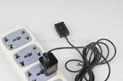 Mini Button Spy Camera with 2M USB cable Powered by Power Bank or Adapter