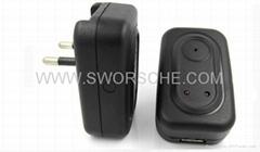 Power Adapter Hidden Cam