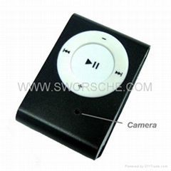 MP3 Camera Supporting TF Card and Taking Photos 1.3M Pixels Nanny Spy Camera