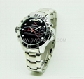 H264 HD720P Spy Watch Camera with G Sensor