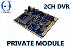 Video Card SD Card DVR Module
