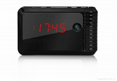Wifi IP Alarm Clock Camera Nightvision H.264 Alarm P2P Baby Monitoring DVR