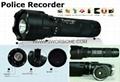 Police HD Flashlight Camera with 1280x720P