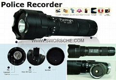Police HD Flashlight Cam