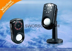 GSM Alarm Camera Wireless MMS Monitor System with Infrared and Body Sensor GM01