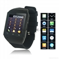 "Smart Watch with 1.54"" Touch Screen"