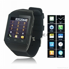 "Smart Watch with 1.54"" Touch Screen Quadband Smart Watch Phone Bluetooth MP3 FM"
