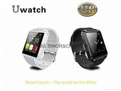 U8 Watch Smart Watch Bluetooth Smart Watch for iPhone Samsung Android Smartphone
