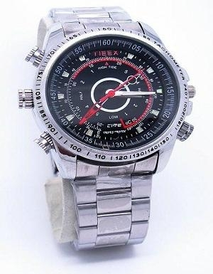 HD waterproof watch camera