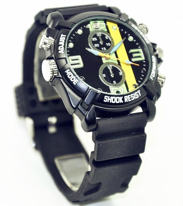 nightvision watch hidden camera