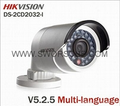 Brand New HIKVISION Outdoor IP Bullet Camera Full HD 1080P POE Network 3MP