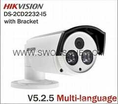 HIKVISION Bullet IP Camera 50m Night Vision HD1080P POE Power Network IP Camera