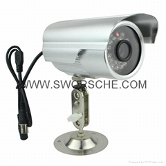 Home Security CCTV Camera IR Bullet Camera with BNC/AV Bullet Camera TV Out