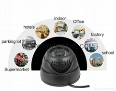 USB CCTV Dome camera 1.3 Mega Pixels security CAM TF CARD Dome Cam