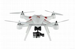 RC Helicopter Quadcopter Drone With Camera 6Axis Gyro 2.4G 7CH RC Quadcopter