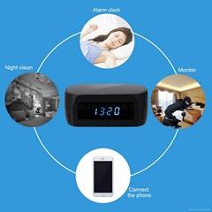 Wifi Desk Clock Camera w