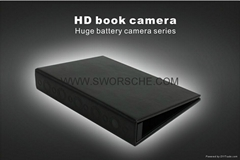 Hardcover Book with 1080p Covert Camera with Nightvision and MotionDetection