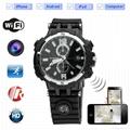 HD720P WIFI Spy Watch Camera  IR