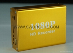 HD1080P 1CH CCTV DVR Recorder for Car DVR and Home Security Best Mobile DVR