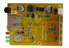 CCTV PCB Board HD1080P SD Card Mini DVR Module for Mobile and Home Recording
