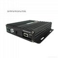 4CH AHD Mobile DVR with Max 256G SD Card Support and GPS/3G/4G/WIFI Function Ext 4