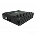 720P 4 Channel Blackbox Mobile DVR Dual