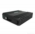 720P 4 Channel Blackbox Mobile DVR Dual