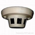 隐蔽天花板烟感型摄像机