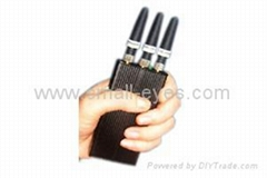 Mobile phone signal jammers