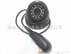 Infrared night vision TF card camera intelligent video