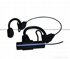 700 TV Lines CCD Bodyworn Headset Wearable Police Hidden HD Camera
